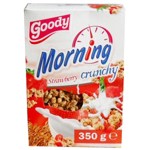 Мюсли Кранчи Good Morning 350 гр