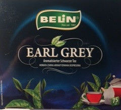 Чай Belin Earl Grey Strong 75 шт